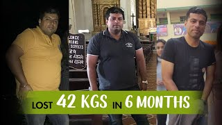 My Weight Loss Story: Losing 42 kgs in 6 Months | Fat To Fit | Fit Tak