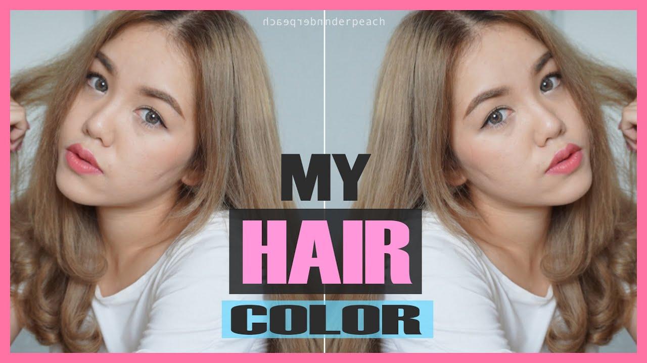 รีวิว เปลี่ยนสีผมด้วย Lolane Z Cool Color Milk ม้วนผมลอน