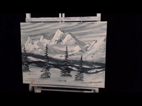 Timelapse landscape painting by Ka1bers Ep22