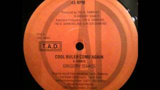Watch Gregory Isaacs Cool Ruler Come Again video
