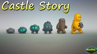 Желтые человечки СТРОИТЕЛИ Castle Story Обзор игры
