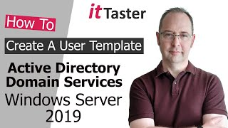 How To Create A User Template In Active Directory - Windows Server 2019
