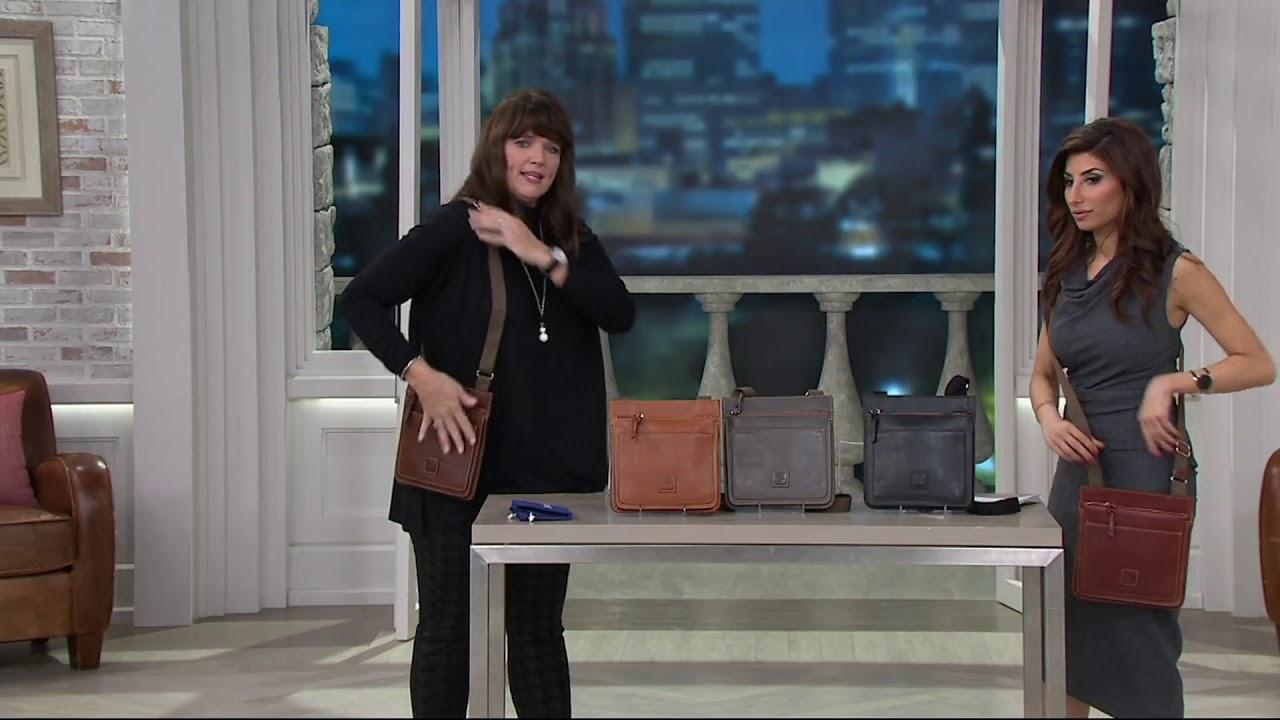 Samantha Brown Luggage Qvc: Dooney & Bourke Florentine Crossbody Handbag- Mallory On