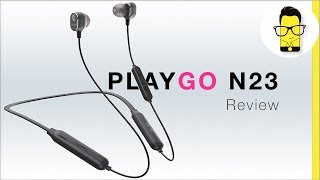 Playgo N23 review: best Bluetooth wireless neckband earphones under Rs 2,000?