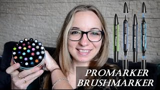 Présentation Promarker et Brushmarker