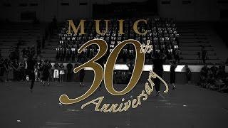 MUIC 30th Anniversary Stand Cheer and Cheerleader (2016)