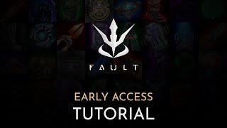 Fault - Tutorial (New 3rd Peŗson MOBA Game)