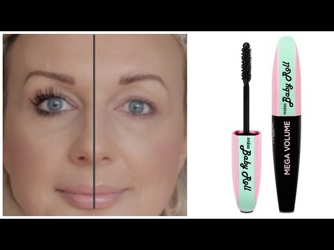 c6381f5338c NEW LOREAL MISS BABY ROLL MASCARA FIRST IMPRESSION & REVIEW by Shy's ...