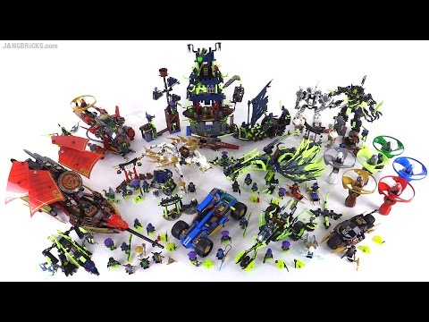 LEGO Ninjago Summer 2015 collection - ALL sets together! - YouTube