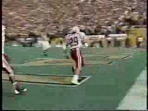 1989 Nebraska vs Colorado - Gdowski 51 yard TD Pass