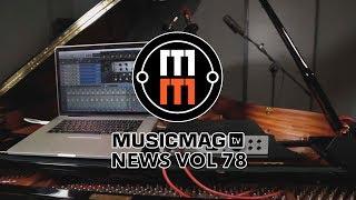 Musicmag TV News Выпуск 78: синтезаторы Quadrantid Swarm и Manther, midi саксофон и др.