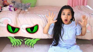 शफ़ा के बेड के नीचे एक राक्षस है।
