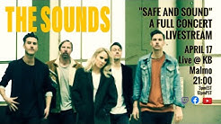 """The Sounds """"Safe and Sound"""" Livestream from the KB, Malmö Sweden"""