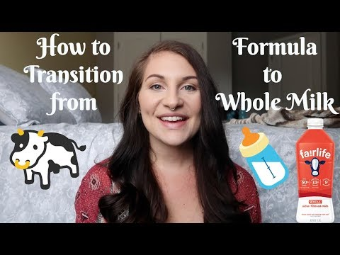 How To Transition From Formula to Whole Milk