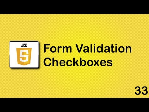 JavaScript beginner tutorial 33 - checkboxes