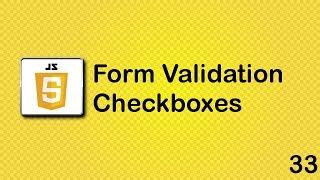 JavaScript beginner tutorial 33 - checkboxes