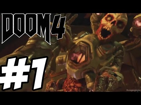 DOOM 4 - Gameplay Walkthrough Part 1 - Single Player  [ HD ]