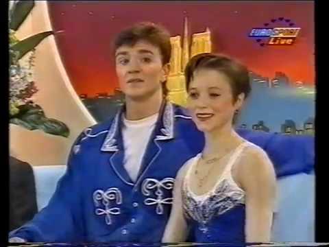 Elena Berezhnaya & Anton Sikharulidze RUS - 1997 European Championships SP