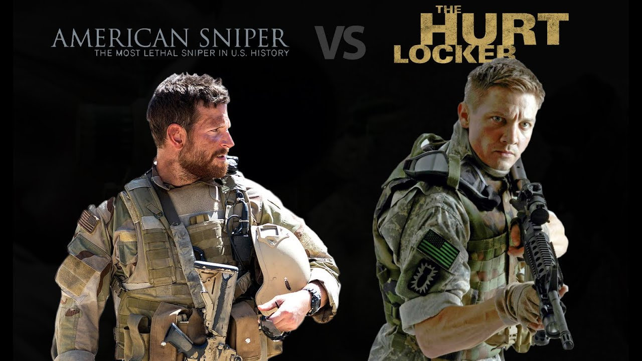 american sniper vs the hurt locker youtube