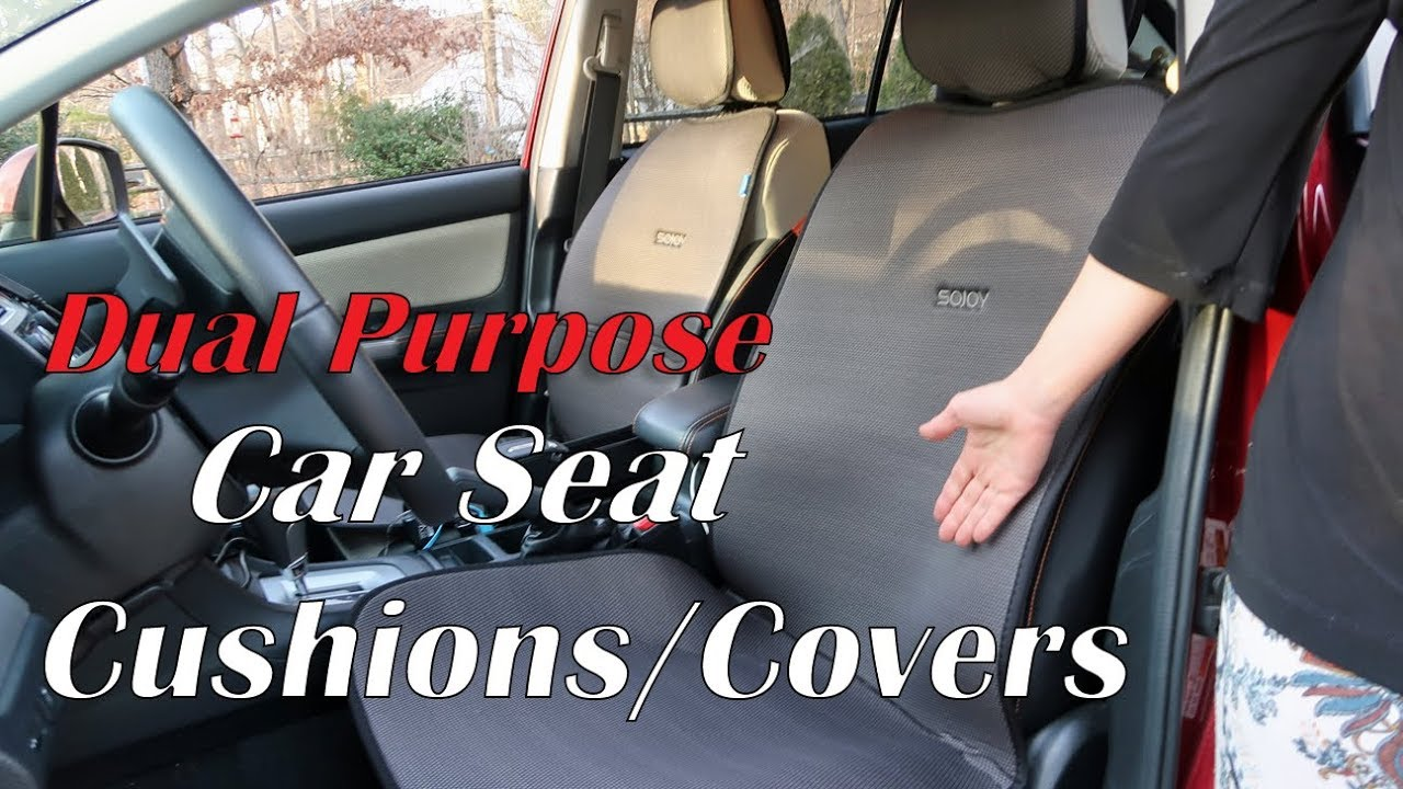 SOJOY CAR SEAT CUSHIONS COVERS IsoTowel Dual Purpose BEST AUTO