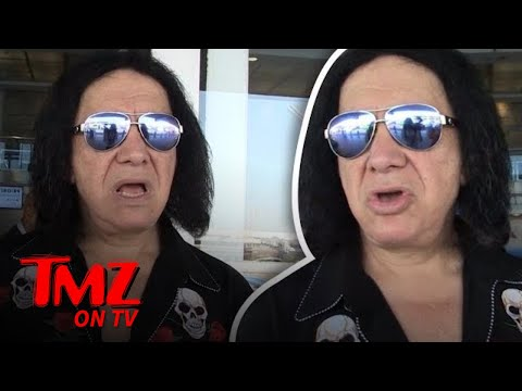 Gene Simmons: Alcohol Doesn't Appeal To Me   TMZ TV