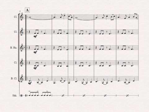 Feliz Navidad Clarinete.Feliz Navidad Christmas Classic Clarinet Quartet