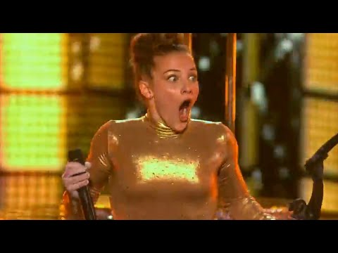 Sofie Dossi gets Reba McEntire's Golden Buzzer   Judge Cuts 2 Full   America's Got Talent 2016