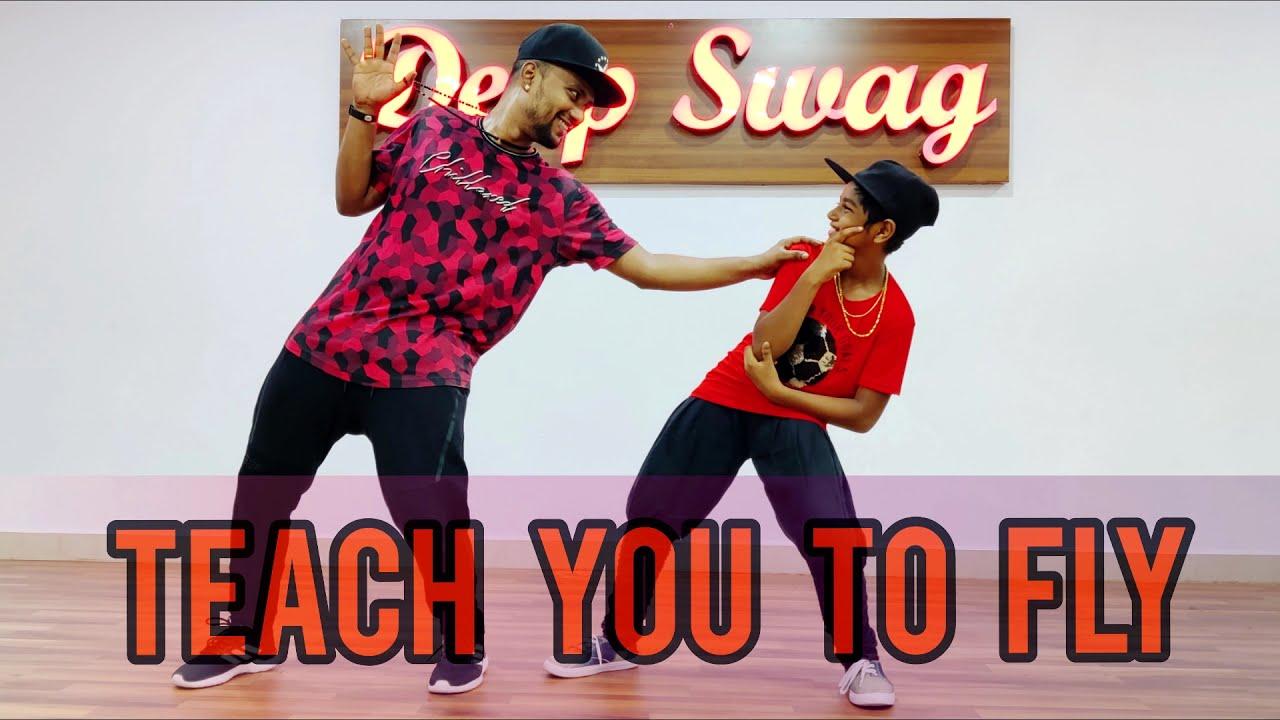 Wiz Khalifa | Teach You to Fly | Deep Swag Dance Studio | Dance Cover | Sundeep Cubeman Choreography