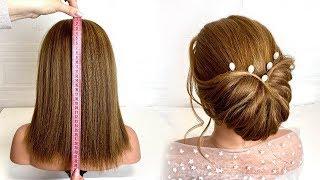 Прическа на короткие волосы Красивые прически пошагово