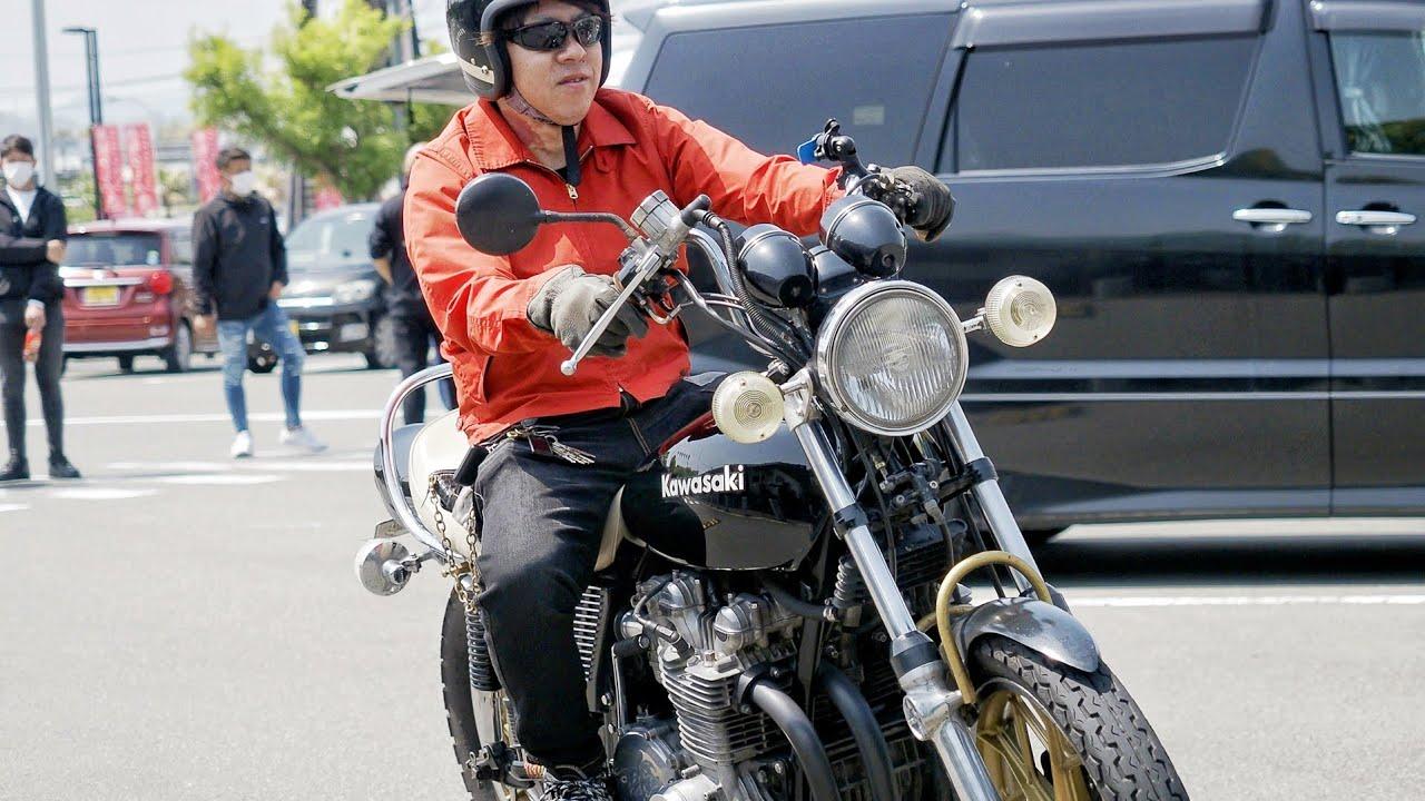 CBX400F CBX550F KH250 Z1 SR400 CB400F Z400GP ZEPHYR400 CB750F KH400 Japanese motorcycle videos