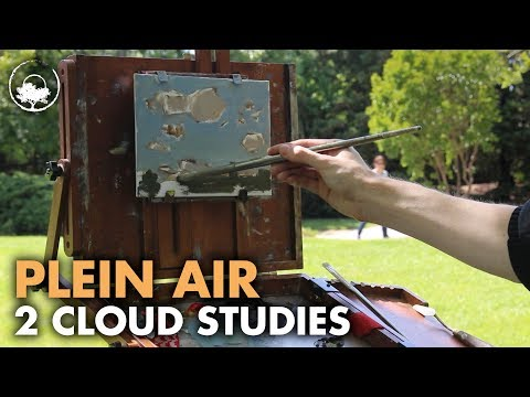 Head In The Clouds - Plein Air Painting Adventure #03