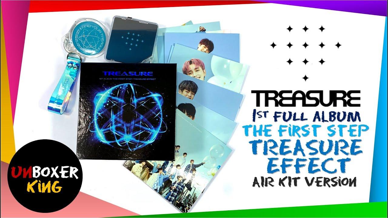 Treasure 트레저 1st Full Album The First Step Treasure Effect Air Kit Version Album Unboxing Youtube