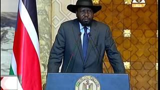 بالفيديو: رئيس جنوب السودان: هناك من يعمل علي إعاقة عملية السلام في بلدنا