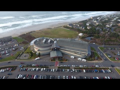 Chinook Winds Casino Lincoln City, Oregon / Drone View