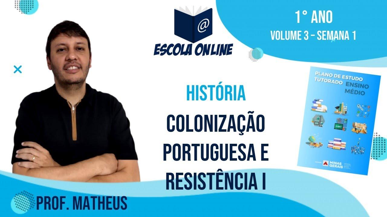 Download Resolução das atividades do PET 2021 | 1º ano EM | Volume 3 | Semana 1 | História | Prof. Matheus