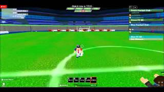 Redslash40 The White Gladiator ( Ro-soccer) Compilation ROBLOX
