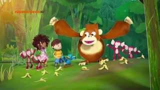 Зак и Кряк-Банановое мороженое