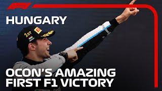 Esteban Ocon Claims Brilliant Maiden F1 Victory
