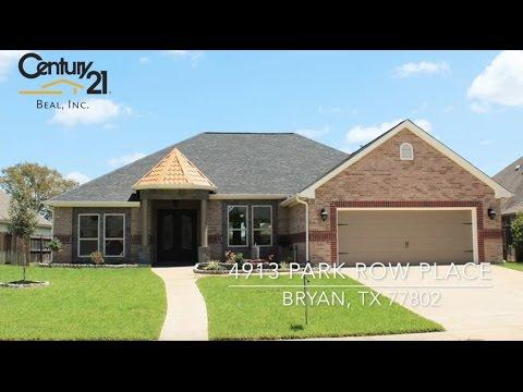 4913 Park Row Place, Bryan, TX 77802