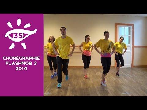 Noche de Rumba (Chorégraphie Flashmob Téléthon Rennes 2014)