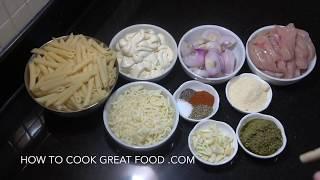 Chicken Mac n Cheese - Chicken Creamy Pasta Bake - Easy Mac n Cheese - No Flour Mac n Cheese