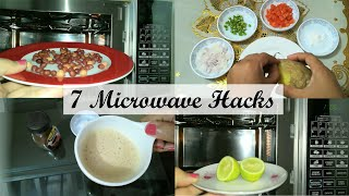 Singer Microwave Food Hacks || Amazing 7  Microwave Food Hacks || Microwave Tips & Tricks ||