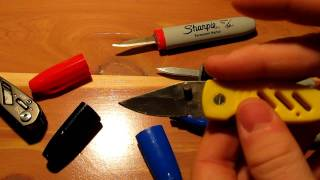 How to make the sharpie knife, Tutorial.