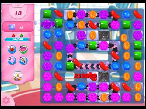 Candy Crush Saga Level 2892 - NO BOOSTERS (CLOSER TO PAY2WIN-VERSION)