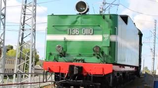 Выезд паровозов из депо ЭКСПО 1520   2017