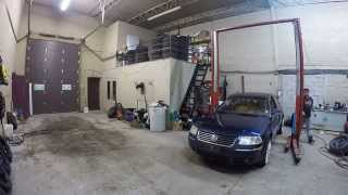 Installing 2 front summer tires on 18x9 VMR v710 wheels on volkswagen passat !