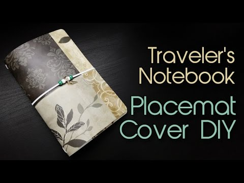 Fauxdori / Midori / Traveler's Notebook Tutorial | Placemat Cover DIY | Creation in Between