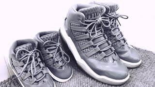 Jordan Max Aura Grey unboxing & comparison with Air Jordan 6 Rings
