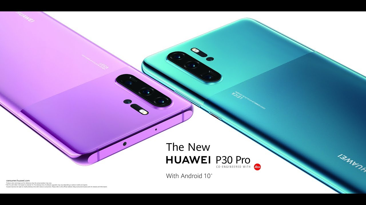 The 'new' Huawei P30 Pro comes with Android 10 and a fresh