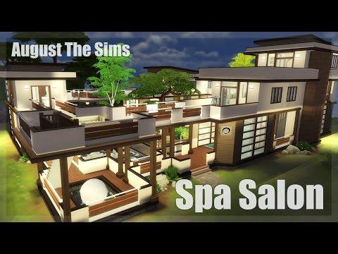 The Sims 4 -Speed Build | Спа Салон